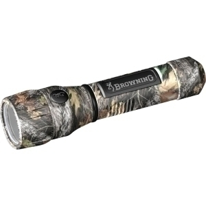 Browning Hi Power 5302 Flashlight - LED - AA - AluminumBody - Mossy Oak | Browning