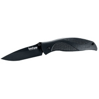 "Kershaw Blackout 1550 Cutting Knife - 3.31"" Blade - Stainless Steel Glass-f"