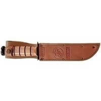 KA-BAR 1217I Carrying Case for Knife - Brown - Sheath - Leather