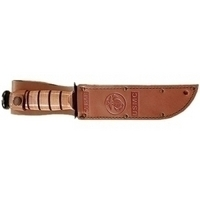 Image KA-BAR 1217S Carrying Case for Knife - Brown - Sheath - Leather