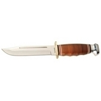 KA-BAR 1235 Hunting Knife - Fixed Style - 5.88\
