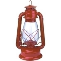 Image Texsport 15998 Lantern - MetalBody, GlassGlobe - Red
