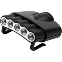 Cyclops ORION CYC-HC5-W Head Light - LED - CR2032 - Black