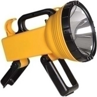 Cyclops Thor CYC-S6X Flashlight - Halogen Bulb - 100 W - Yellow, Black