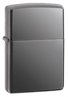Zippo Black Ice Chrome Lighter