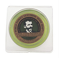 Image Four Bars Lime Col. Conk Glycerin shave soap (2 1/4 oz.)