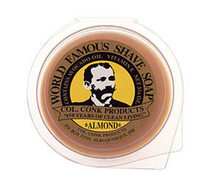 Image Four Bars Col. Conk Almond fragrance shave soap Size (2 1/4 oz.)