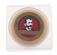 Four Bars Col. Conk Traditional Bay Rum shave soap (2 1/4 oz.)