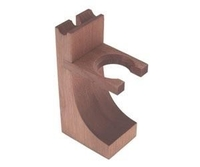 Colonel Conk Wood Razor and Brush Stand