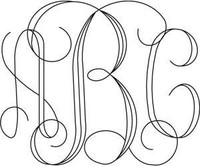 Image Interlocking Monogram (3-4 letters)