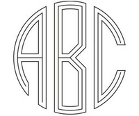 Image Circle Monogram (3-4 letters)