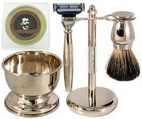 Colonel Conk 4 Piece Shave Set