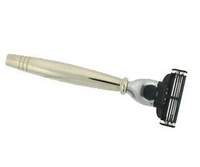 Image Colonel Conk Mach 3 Chrome Handle Razor