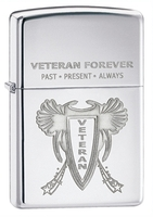 Zippo Military Veteran Lighter