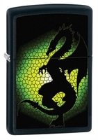 Image Zippo Tryptych Green Dragon Lighter