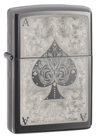 Image Zippo Ace of Spades Filigree Lighter