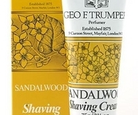 Geo F Trumper Sandalwood Soft Shaving Cream travel tube