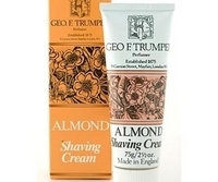 Image Geo F Trumper Almond Soft Shaving Cream travel tube