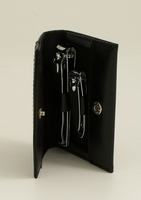 Image Twin Nail Clipper Set w/ Leather Case