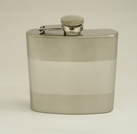 Image 6oz. Banded Flask