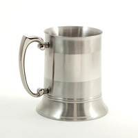 Stainless Steel Tankard, 1 pint