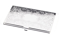Image Victorian-Etched Business Card Holder