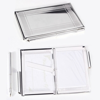 Image Silver-Plated Business Card Holder