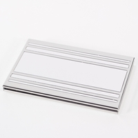 Image Nickel-Plated Business Card Case