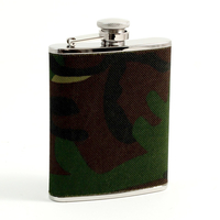 Image 6oz Flask, Camouflage Design