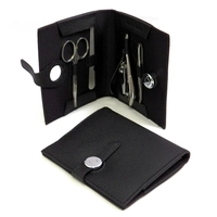 Image 5-pc-manicure-set-black-leather