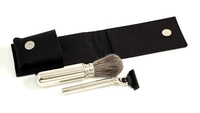 Mach 3 Travel Kit w/ Shaving Brush