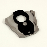 Bey-Berk Stainless Steel One-Handed Cigar Cutter