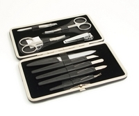 Image 9 Piece Manicure Set in Hard Case