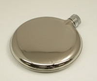 Image 3 oz. Oval Liquor Flask
