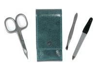 Image Dovo 3-Piece Pocket Manicure Kit, Mint