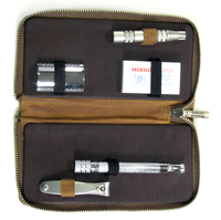 Dovo Safety Razor Travel Kit with Camel Case