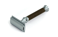 Image Solingen Walnut Wood Safety Razor