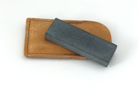 Image Halls Arkansas Surgical Black Pocket Whetstone, Extra Fine