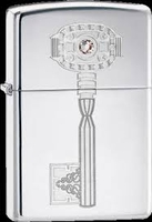 Image Zippo Genuine Key Swarovski Crystal Lighter