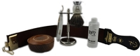 Image Dovo Faux Pearl Handle Straight Razor kit