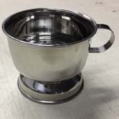 Image Chrome Shaving Bowl with handle