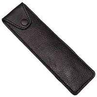 Image Genuine Leather Straight Razor Storage/Travel Case