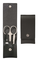 Image Wusthof Manicure set - Leather Case with button, 3 piece set - #9000