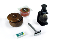 Image Deluxe's Safety Razor Wet Shave Kit