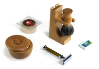 Image Webmaster Special - Wooden Safety Razor Kit