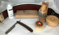 Image The CanShave Wooden Safety Razor Set