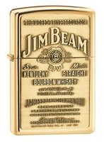 Jim Beam Bourbon Zippo Lighter