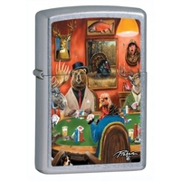 Image Zippo Big Game Lighter, Street Chrome